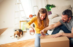 Residential moving and storage services